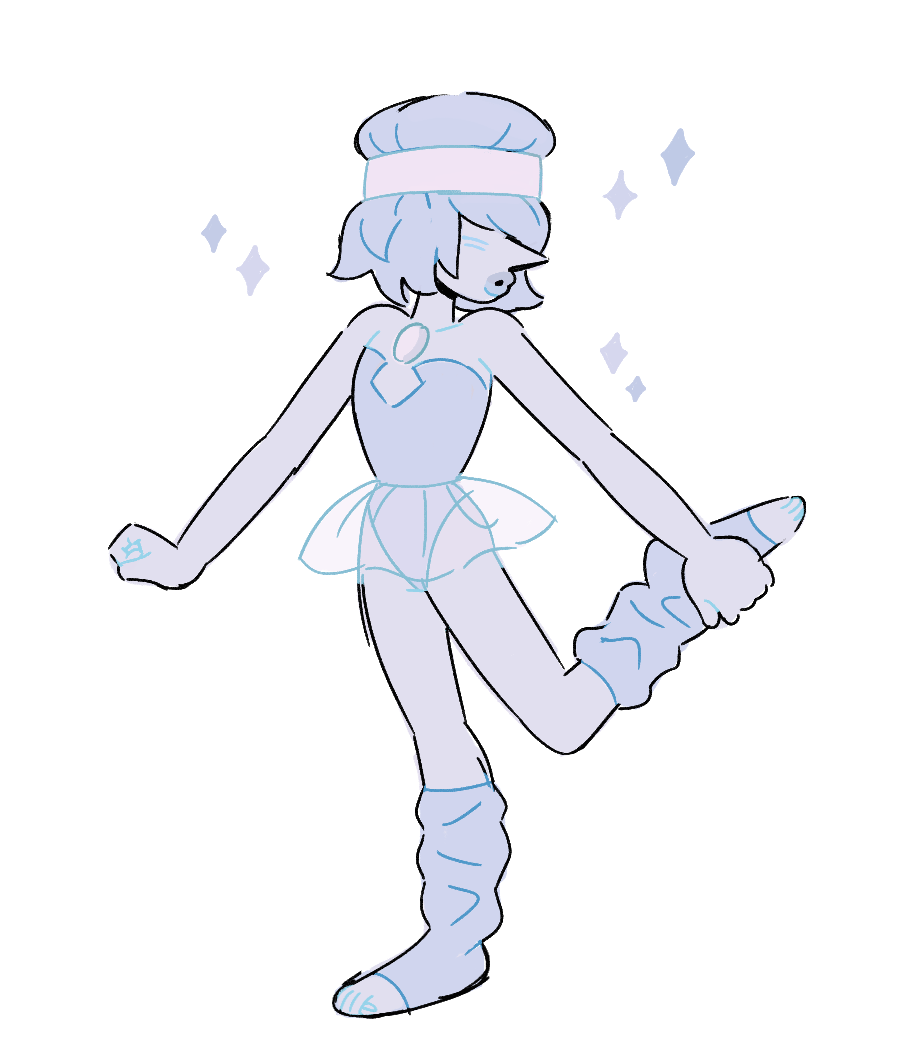 pearl stretch! remember to stretch often!