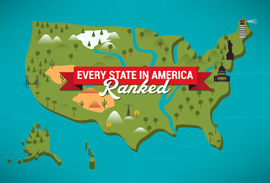 Ranking The United States of America From Best to Worst