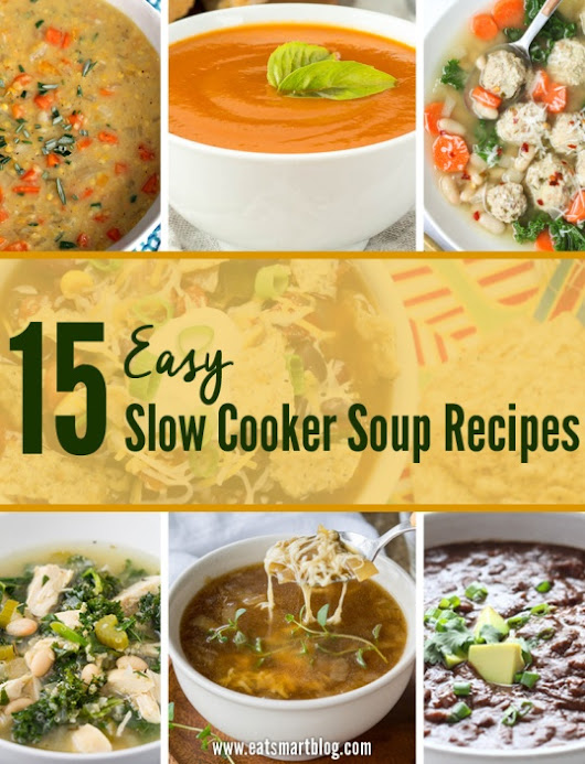 15 Easy Slow Cooker Soup Recipes