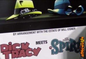 Dick Tracy e Spirit insieme!