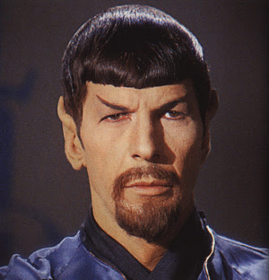 Evil Spock cover picture