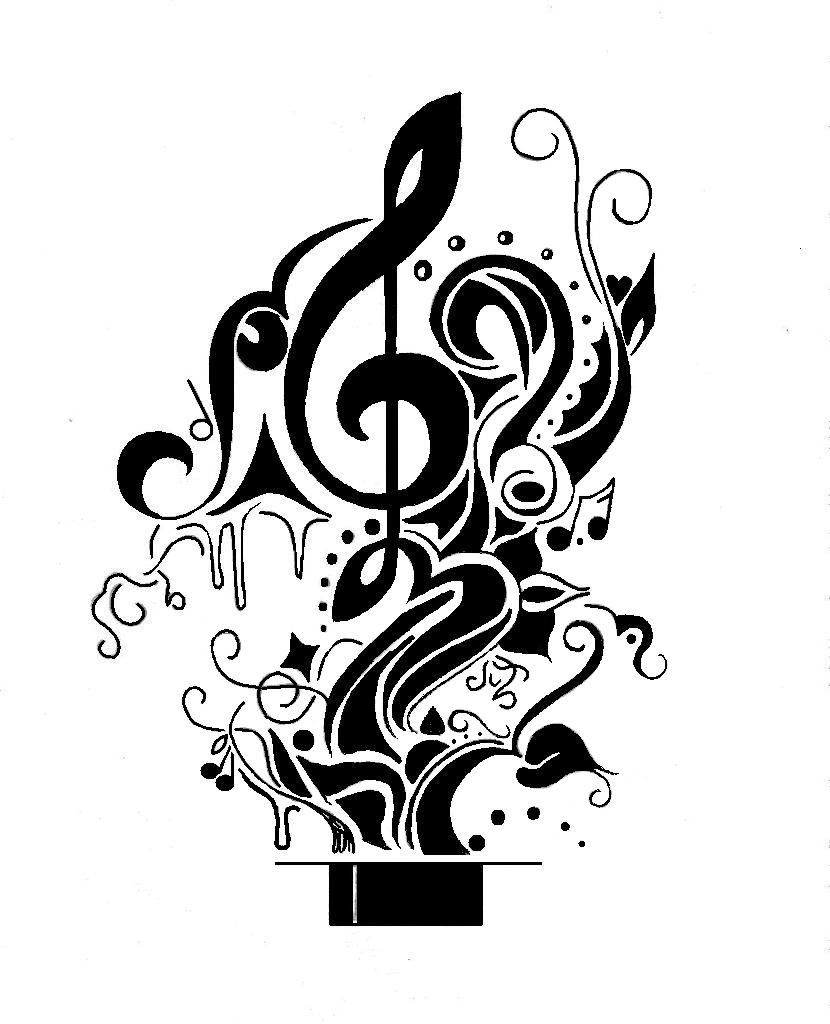 Music Drawing Ideas At Getdrawingscom Free For Personal Use Music