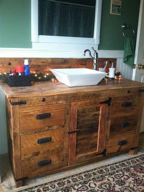 rustic bathroom vanity  dream laundry room