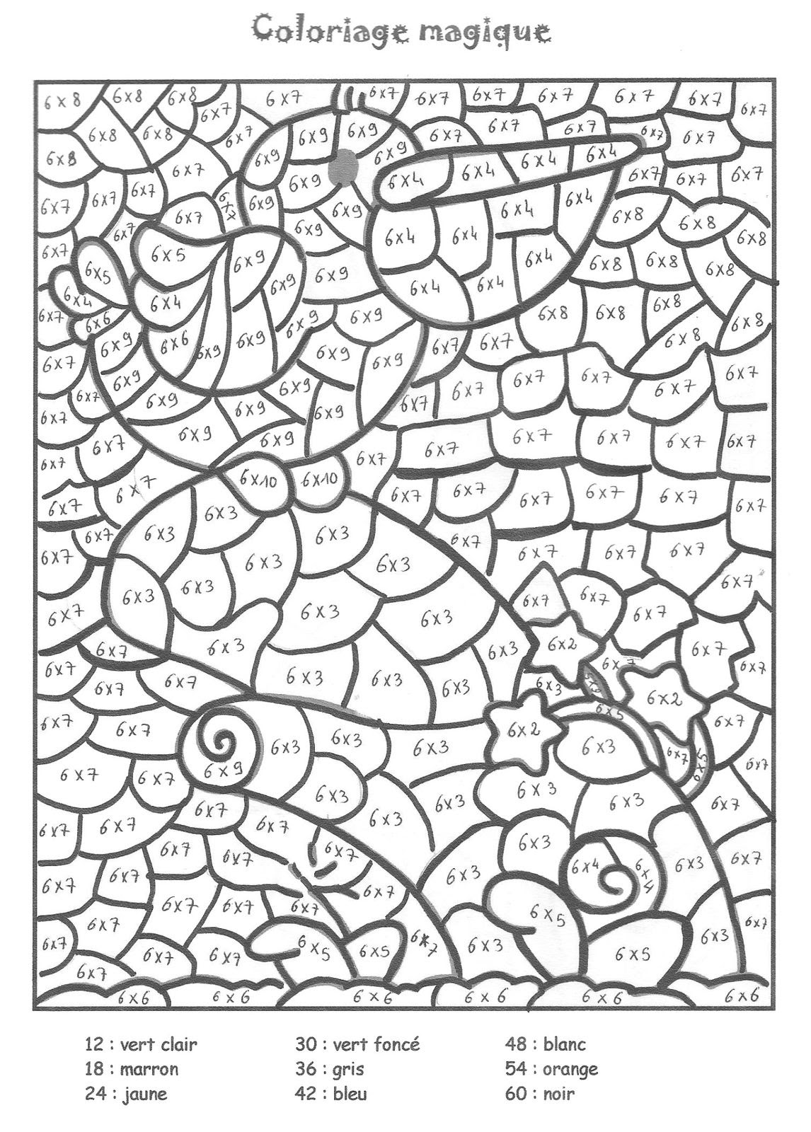 table de 6 coloriage codé copie 1