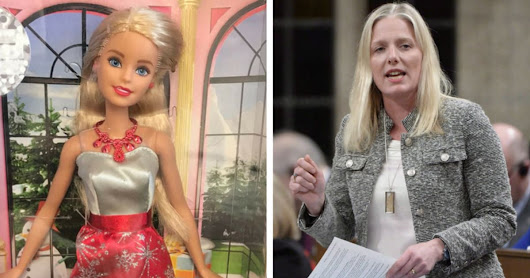 Catherine McKenna Receives Barbie In The Mail From Some Jerk