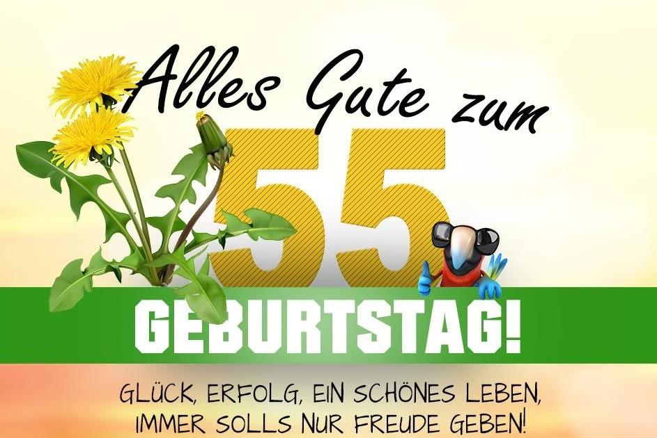 Lustige Geburtstagssprüche Für Frauen Zum 55