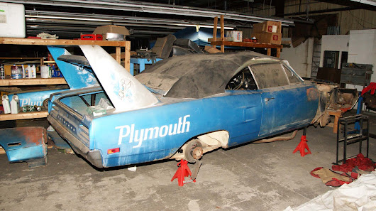 Secret Stash of Winged Superspeedway Cars from the 1960s