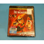 THE INCREDIBLES 4K ULTRA HD + BLU-RAY NEW SEALED