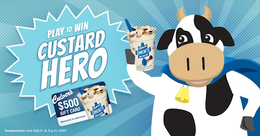 Play Culver's Custard Hero Game