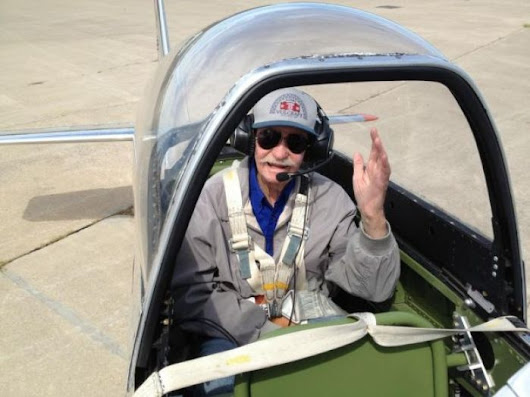 OUR GOOD DEEDS: 94-year-old man takes a ride in a P-51 Mustang