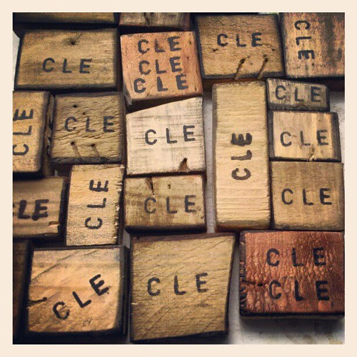 Recycled cle blocks by bridgetDginley