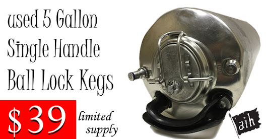 🍺 Used Ball Lock Kegs $39 🍺
