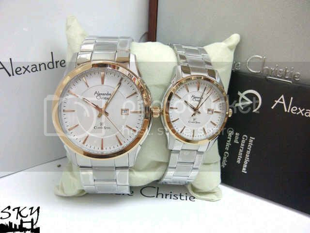 Jam Tangan Alexandre Christie Couple Mewah