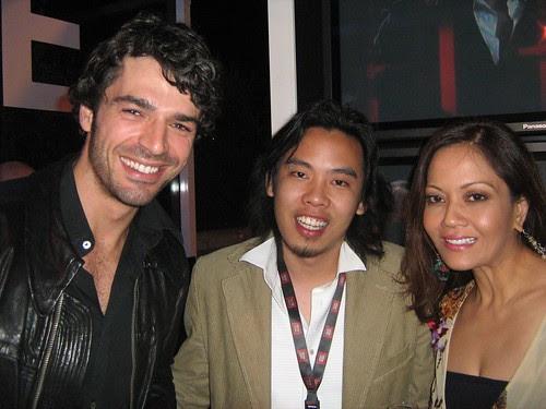 Ida Nerina, Zahir Omar and Luca Argentero