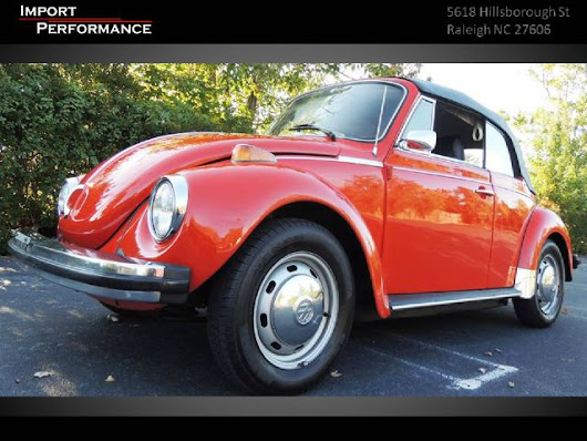 1974 Volkswagen Beetle Base For Sale In  Raleigh NC - Import Performance Sales