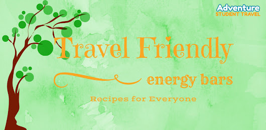 Travel Friendly Energy Bars: Recipes for Everyone - Group Tours