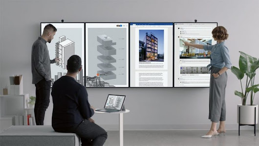 Check Out Microsoft's Incredible Surface Hub 2 | Meritec