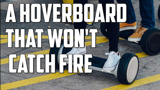 A Hoverboard That Won't Catch Fire | Autoblog Minute - Autoblog