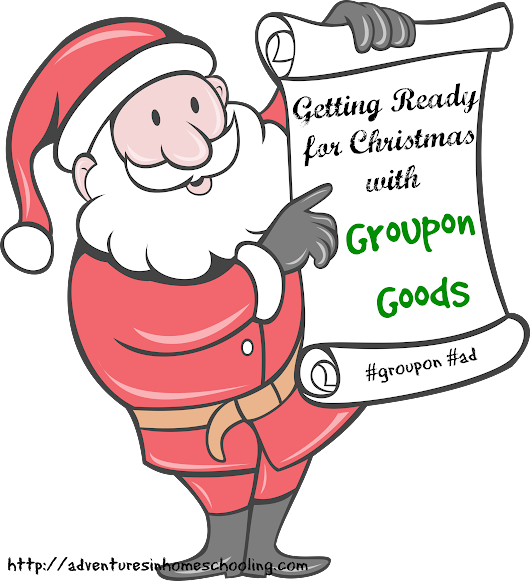 Getting Ready for Christmas with Groupon Goods