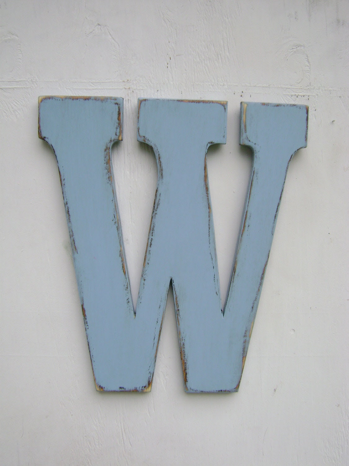 Wood letter wall decor baby room wall hanging by UncleJohnsCabin