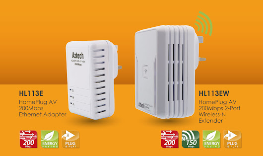 Aztech Enters PH Market With HomePlug Network Solutions Bundle