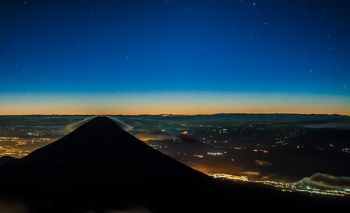 Volcan de Agua y Pacaya