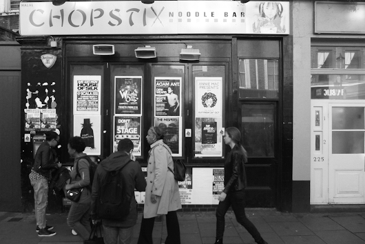 Chopstix Noodle Bar and Poster Board, Notting Hill