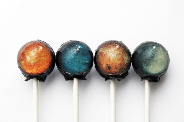 Solar System Lollipops space food candy