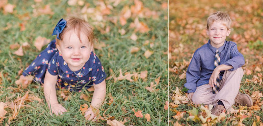 Ladue Fall Children's Photography
