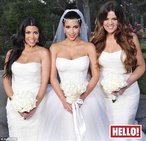Kim Kardashian wedding dress: First look at Vera Wang gown