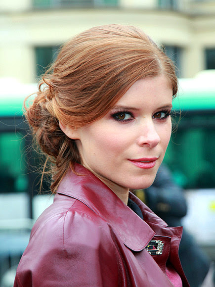 LOOSE SIDE BUNS photo | Kate Mara