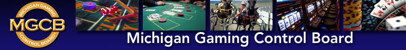 Michigan Gaming Control Banner Image