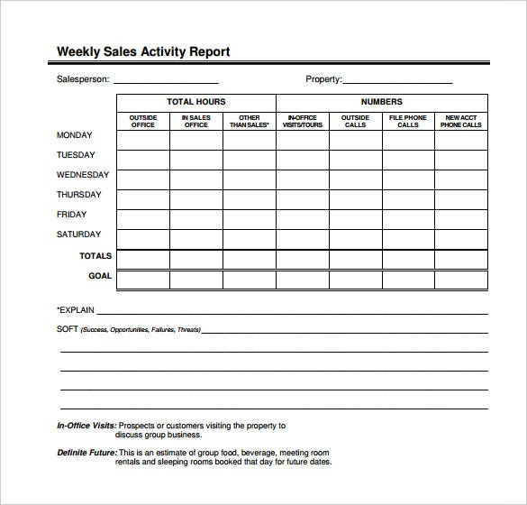 daily activity report format in excel free calendar june