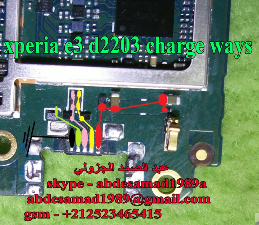 Sony Xperia E3 D2203 Charging Solution Jumper Problem Ways