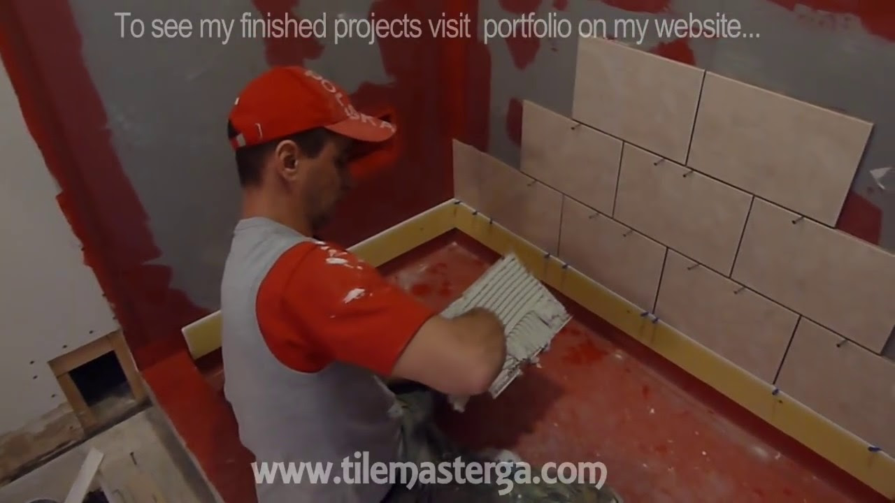 """Part """"2"""" How to tile shower stall or tub walls - Where to ..."""