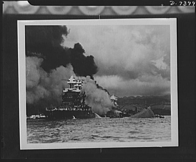 USS Maryland, Dec. 7, 1941