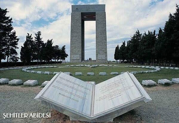 çanakkale Savaşı şehitlikleri Ve Anıtları