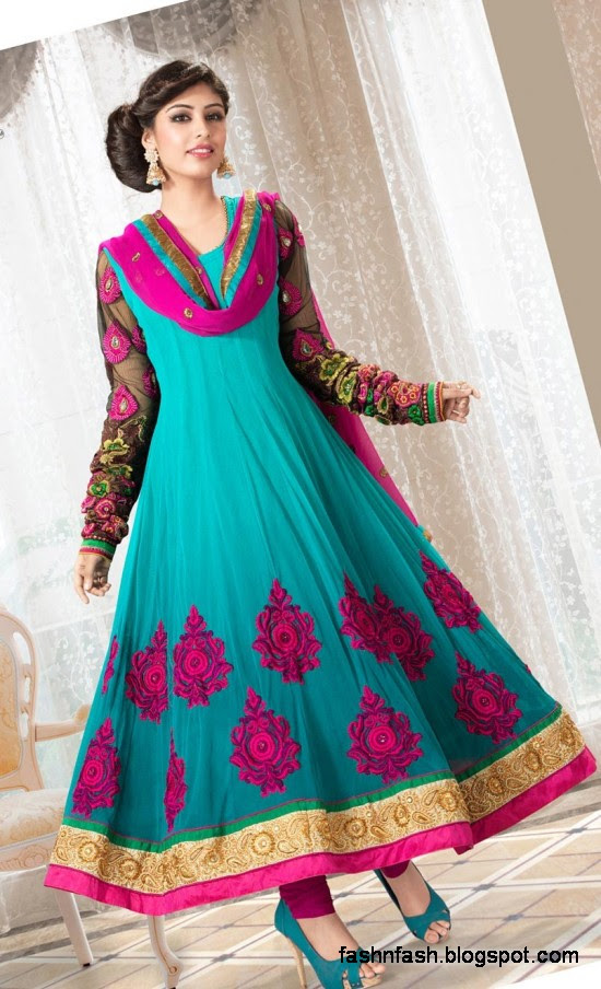 Indian-Anarkali-Umbrella-Frocks-Anarkali-Fancy-Winter-Frock-New-Latest-Fashion-Clothes-Dress-3