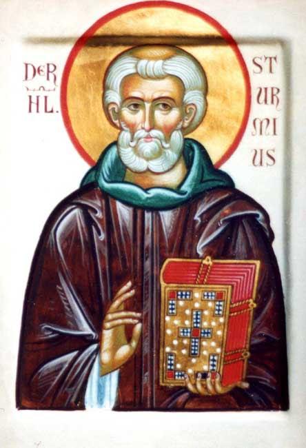 img ST. STURM, Sturmius, Founder of Fulda Monastery