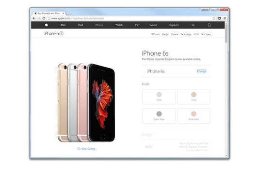 Apple Brings iPhone Payment Plans to Online Customers    - WSJ