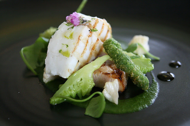 Grilled Atlantic Brill 'Tournedos'
