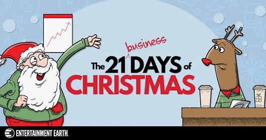 Celebrate The 21 Business Days of Christmas with Daily Doorbusters and Exclusive Giveaways | Ed Johnson Presents NERD