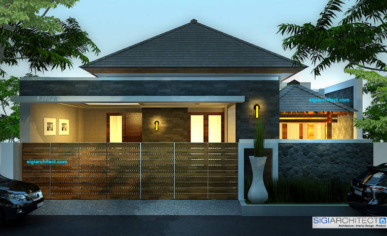 Gambar Desain Rumah Minimalis Modern 1 2 Lantai