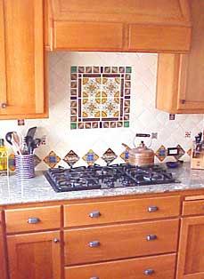 Mexican Tile Kitchen Backsplash House Furniture