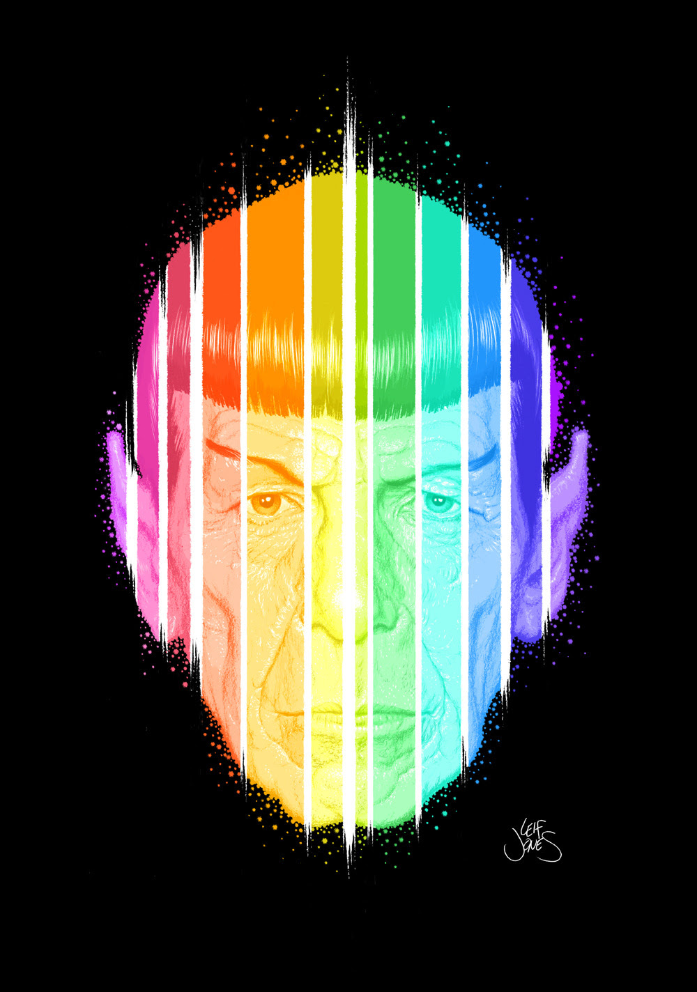 Spock by Leif Jones