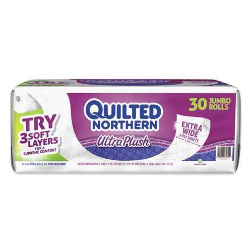 Google Express Quilted Northern Ultra Plush 3ply Bath Tissue 30