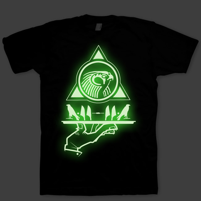 Vintage for t shirts the glow dark print in list zelienople collection