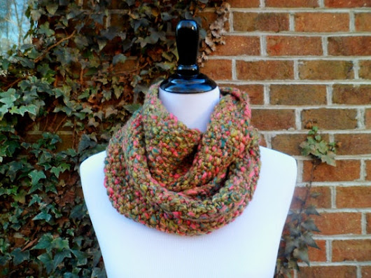 Jewel Cowl by GingerYarnCo on Etsy