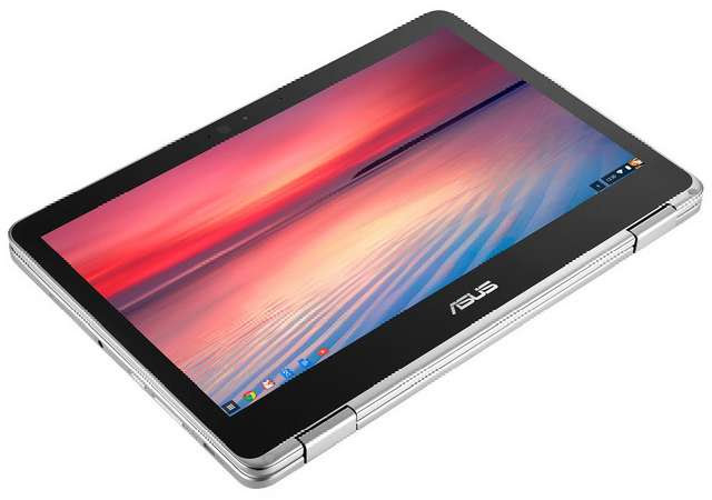 Asus Announces New Convertible Chrome Laptop with Play Store, Intel Core m