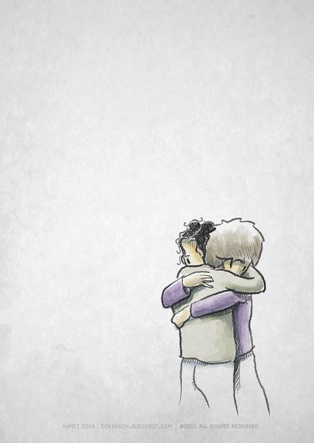 hug / silence